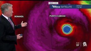 Category 4 Hurricane Iota makes landfall in Nicaragua