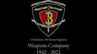 Weapons Company deactivation ceremony