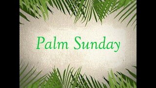 March 28, 2021 (Palm Sunday) -- Philippians 2:5-8