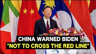 """China warned BIDEN """"NOT TO CROSS THE RED LINE"""""""