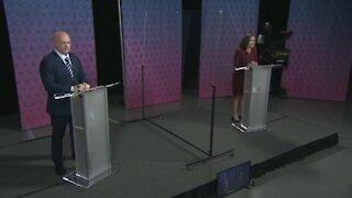 Senator McSally, Democratic nominee Mark Kelly hold debate (Part 3)