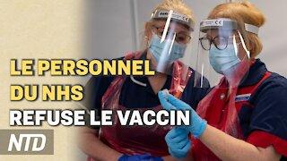Le Royaume-Uni durcit le ton face aux passeurs ; Moderna : des vaccins combinant Covid et grippe