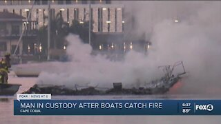 Early morning boat fire investigated as arson