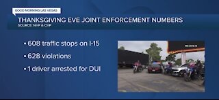 NHP and CHP make 608 traffic stops on Wednesday