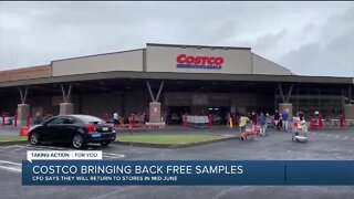 Costco bringing back free samples