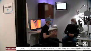 Local eye doctors back to seeing patients