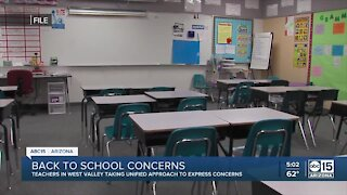 West Valley teachers form 'alliance' over COVID-19 concerns