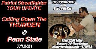 7.12.21 TTP Radio - Patriot Streetfighter Tour Update, Penn State
