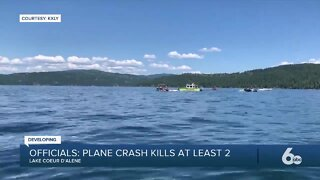 Officials say two-plane collision kills at least two people