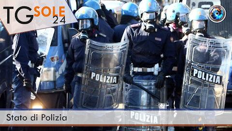 TgSole24 - 21 ottobre 2021 - Stato di Polizia