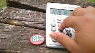 Man turns calculator into musical instrument