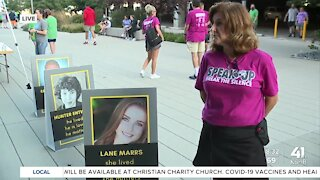 'Speak Up' walk raises money and awareness for mental health and suicide prevention