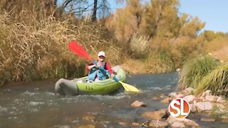 Beat the heat in a kayak at Verde Adventures by Sedona Adventure Tours