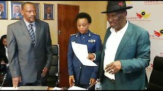 SA Police Minister Cele takes Operation Thunder to KZN (a29)