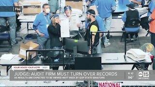 Judge says Cyber Ninjas must turn over records regarding audit