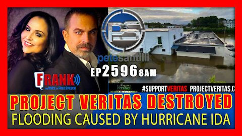 EP 2596-8AM - Project Veritas Headquarters in New York Destroyed by Hurricane Ida's Remnants