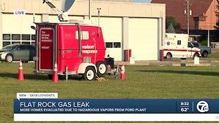 Flat Rock Gas Leak