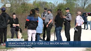 Search for missing 3-year-old Major Harris moves to Havenwoods State Forest Tuesday