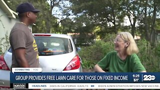 Non-profit Raising Men and Women Lawn Care Service provides free lawn care to those on fixed incomes