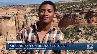 Police report released on missing geologist Daniel Robinson