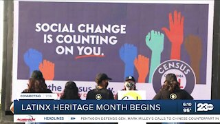 LatinX heritage month begins