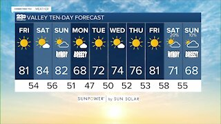 23ABC Weather for Friday, October 15, 2021