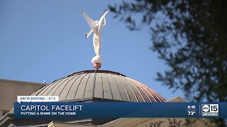 Capitol dome getting a facelift