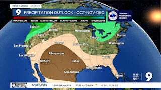 Slightly cooler temperatures arrive as autumn approaches