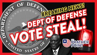 BREAKING: DoD Vote Steal, Energy Beams & Jab-Monsters!
