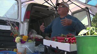 Denver7 Gives raises $2,500 to help man take produce stands to food deserts in Colorado