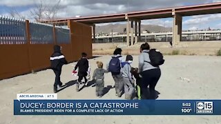Ducey says border is a catastrophe