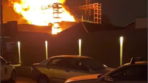 Robertsham Fire