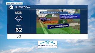 7 First Alert Forecast 6 pm, Update, Sunday October, 24