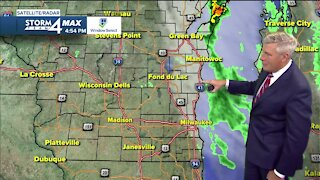 Thursay night will be cold, but Friday will be warm and gusty