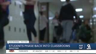 Middletown schools phase students back into classrooms