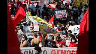 Freedom Rally, Pro-Bolsonaro Protests in Brazil