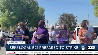 SEIU local 521 prepared to strike