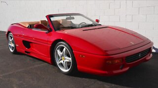 Classic Ferrari raffle benefits breast cancer research