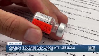 Valley church joins efforts with vaccine education sessions