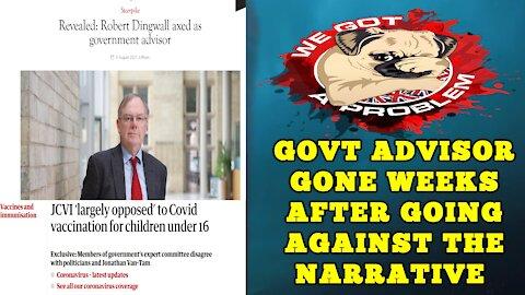 JCVI Member Robert Dingwall Let Go By Govt Following His Public Opposition To Jabbing Kids