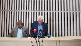 SOUTH AFRICA - Cape Town - Electricity Crisis Media Briefing (video) (aHy)