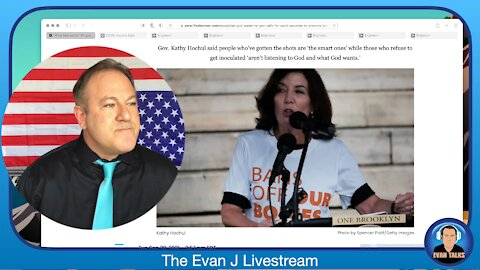 9/28/21 - NY Gov Declares GOD is Big Pharma's PIMP and all New Yorkers are WHORES - Ep. 084
