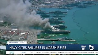 Navy officials: USS Bonhomme Richard fire 'completely preventable'