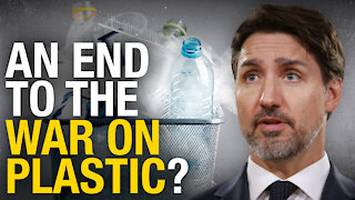 Official government petition calling on Trudeau to end war on plastic
