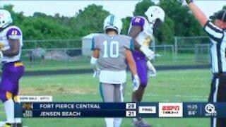 Gabe Jacas leads Ft Pierce Central over Jensen Beach
