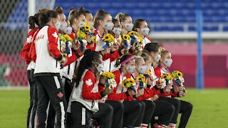 Canada Wins First Olympic Gold Medal In Women's Soccer