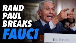 Senator Rand Paul grills a frazzled Fauci