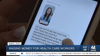 Raising money for health care workers