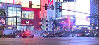 Shooting on the Las Vegas Strip this morning