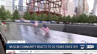 The muslim community still feels the effect of September 11th 20 years later
